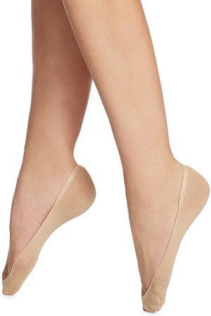 Wolford Women's Cotton Footsies Socks - - Size Small