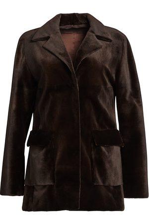 The Fur Salon Women's Zac Posen For Sheared Mink Jacket - - Size Medium
