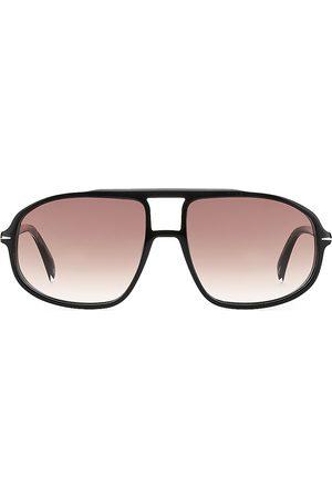 David beckham Men's 59MM Aviator Sunglasses