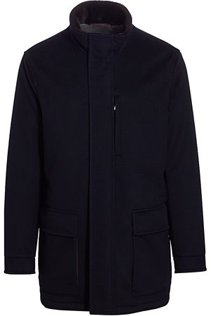Ermenegildo Zegna Men's Elements Cashmere Coat - - Size 62 (52)