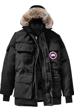 Canada Goose Men's Expedition Coyote Fur-Trim Parka - - Size Large