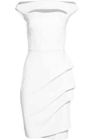 CHIARA BONI Women's Melania Short Off-The-Shoulder Dress - - Size 52 (16)
