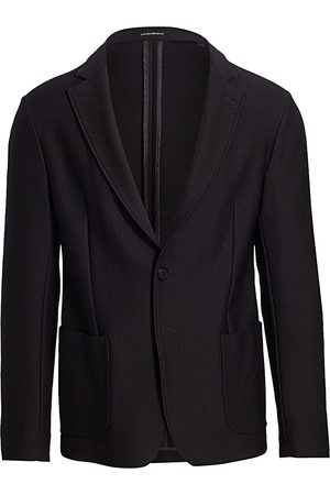 Emporio Armani Men's Textured Soft Jacket - - Size 54 (44) R