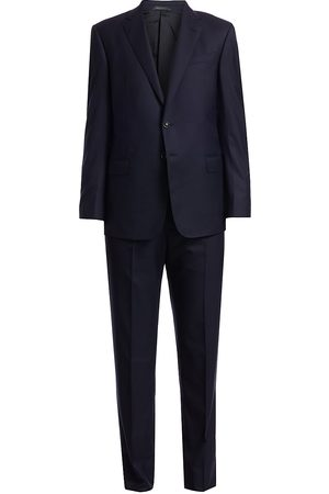 Armani Men's Single-Breasted Wool Suit - - Size 60 (50) R