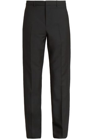 Givenchy Men's Tuxedo Band Virgin Wool & Mohair Trousers - - Size 46 (30)