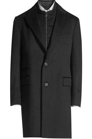 corneliani Men's ID Wool Topcoat - - Size 52 (42)