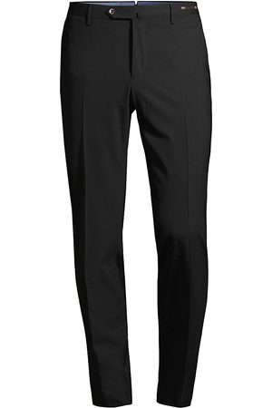 PT01 Men's Slim-Fit Tuxedo Pants - - Size 48 (32)