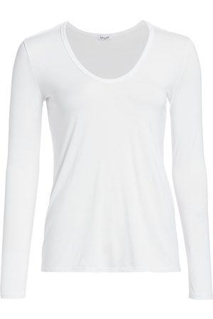 Splendid Women's V-neck Long Sleeve Tee - - Size Large