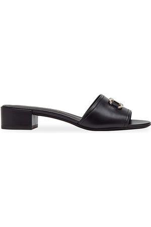 Salvatore Ferragamo Women's Clare Leather Mules - - Size 9 C