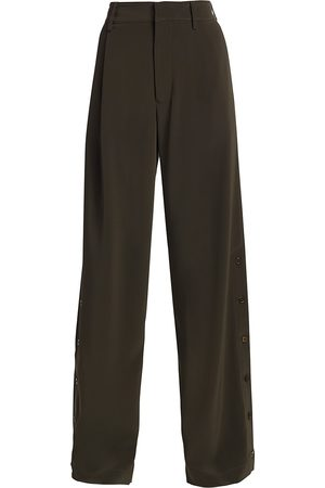 CO Women's Side Slit Trousers - - Size 8