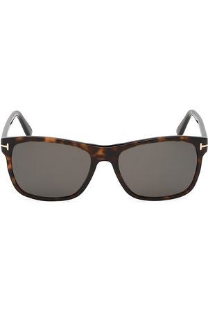 Tom Ford Men's Giulio 54MM Square Havana Sunglasses