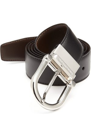 Ermenegildo Zegna Men's Reversible Leather Belt