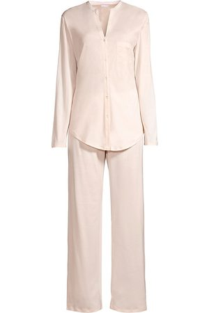 Hanro Women's Cotton Deluxe Pajama Set - - Size XL