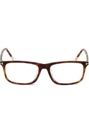 Tom Ford Men's 57MM Plastic Square Optical Glasses - Havana