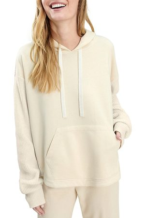 Splendid Women's French Terry & Sweater-Knit Hoodie - - Size Small
