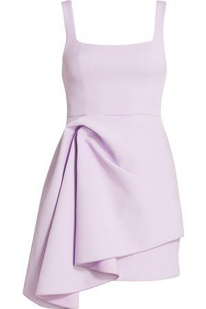 Acler Women's Clarke Scoopneck Knotted Drape Dress - - Size 6