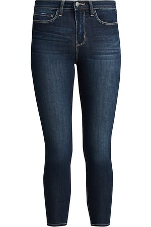 L'Agence Women's Margot High-Rise Skinny Jeans - - Size 31 (10)