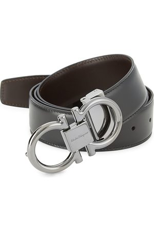 Salvatore Ferragamo Men's Reversible Gancini Buckle Belt - - Size 44