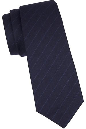Kiton Men's Pinstripe Silk Tie