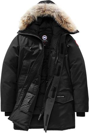 Canada Goose Men's Langford Fusion Fit Coyote-Fur Trim Parka - - Size Large