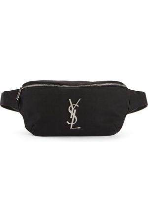 Saint Laurent Men's Nylon Belt Bag