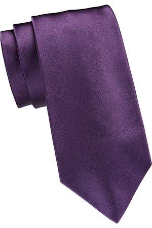Ralph Lauren Men's Solid Color Silk Tie