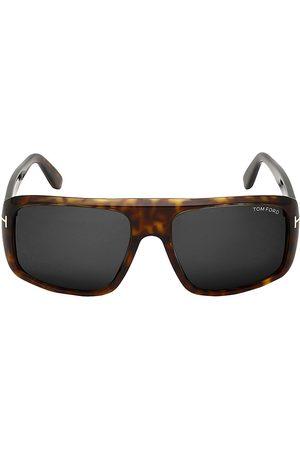 Tom Ford Men's 59MM Square Sunglasses - Dark Havana
