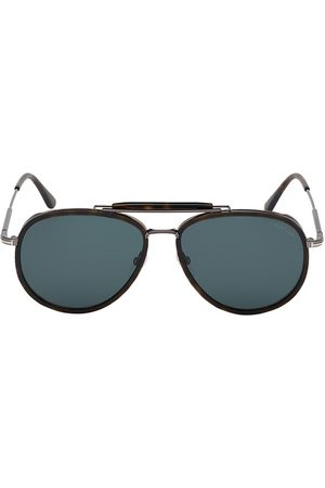 Tom Ford Men's Tripp 58MM Metal Aviators