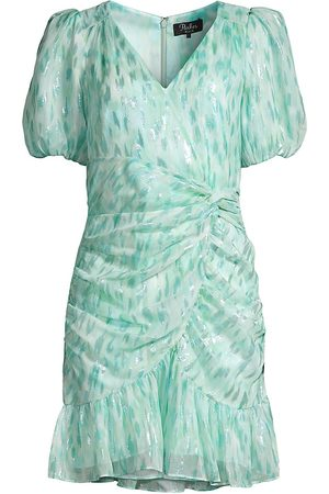 Parker Women's Nilla Ruched Silk-Blend Dress - - Size 6