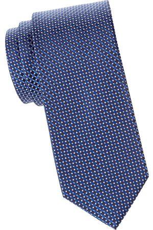 Eton Men's Micro-Dot Silk Tie