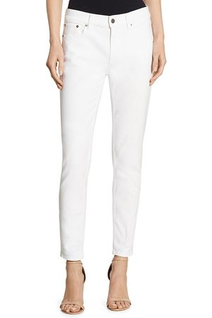 Ralph Lauren Women's Iconic Style 400 Matchstick Mid-Rise Skinny Jeans - - Size 32 (10-12)