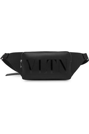 VALENTINO Men Bags - Men's Garavani VLTN Leather Belt Bag