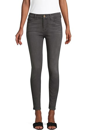 7 for all Mankind Women's High-Rise Ankle Skinny Jeans - - Size 31 (10)