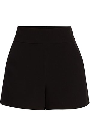 ALICE+OLIVIA Women's Donald High-Waist Shorts - - Size 12