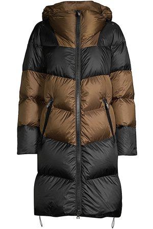Post Card Women's Urban Snowdon Puffer Coat - Bronze - Size 8