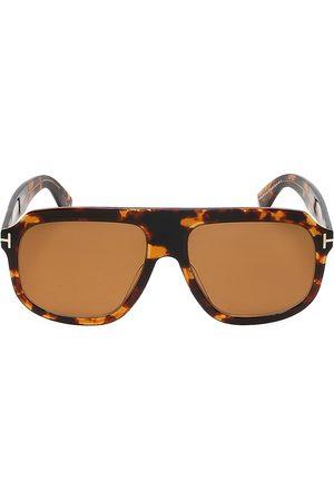 Tom Ford Men's 58MM Square Plastic Sunglasses