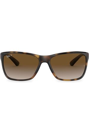 Ray-Ban Men's RB4331 61MM Square Sunglasses