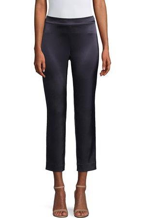 ST. JOHN Women's Liquid Satin Emma Pants - - Size 16