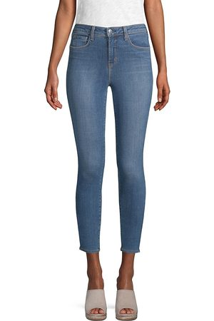 L'Agence Women's Margot High-Rise Ankle Skinny Jeans - - Size 31 (10)