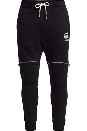 G-Star Men's Silver Accent Zip Joggers - - Size Large