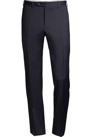 CANALI Men's Slim-Fit Wool Trousers - - Size 50 (34)