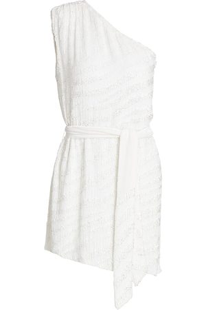 Retrofete Women's Ella Sequin Zebra Dress - - Size Large