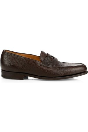 JOHN LOBB Men's Lopez Grain Leather Loafers - - Size 8 UK (9 US)