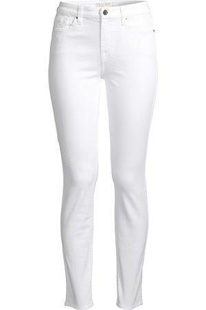 7 for all Mankind Women's Mid-Rise Ankle Skinny Jeans - - Size 25 (0)