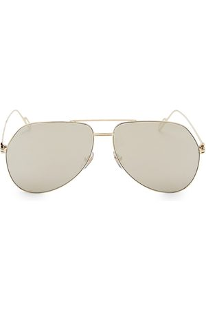 Cartier Men's 62MM Metal Aviator Sunglasses
