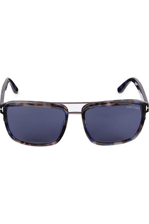 Tom Ford Men's 58MM Plastic Square Sunglasses