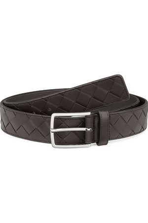Bottega Veneta Men's Intrecciato Leather Belt - - Size 95 (38)