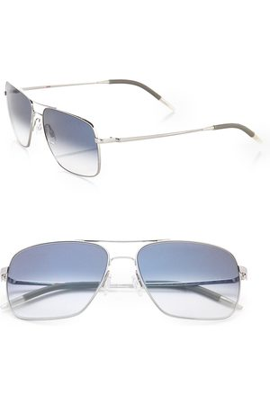 Oliver Peoples Men's Clifton Aviator Sunglasses