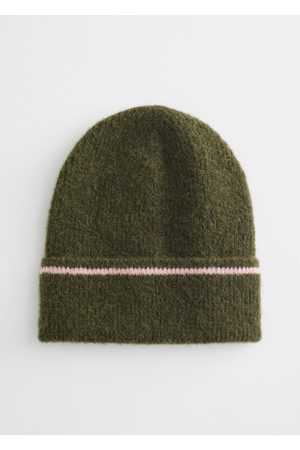 & OTHER STORIES Striped Wool Blend Beanie
