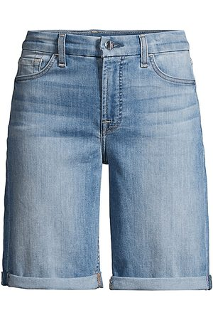 7 for all Mankind Women's Bermuda Sculpting Shorts - - Size 25 (0)